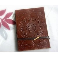Hand Made Leather Cover Diary (CPD92)