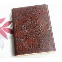 Hand Made Leather Cover Diary (CPD94)