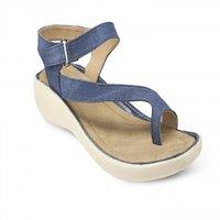 Repose Denim Fabrics Sandals