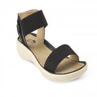 Repose Elegant Black Sandals