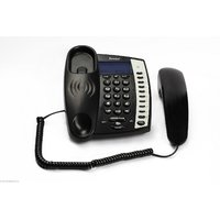 Beetel M60 Landline Caller ID & Full Speaker Phone - Heavy Duty Phone (Black)