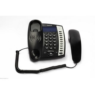 Beetel M60 Landline Caller ID  Full Speaker Phone - Heavy Duty Phone (Black)