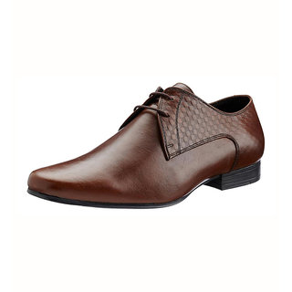 Franco Leone Tan Formal Shoes