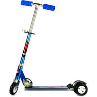 Kids Scooter With Tractor Wheels - Blue
