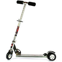 Kids Scooter With Tractor Wheels - Grey