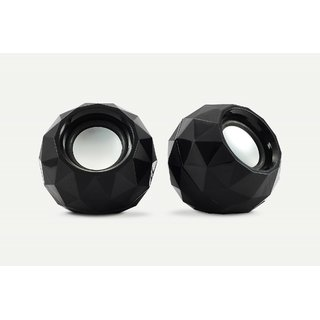 Zebronics 2.0 Multimedia Speaker Crystal Black