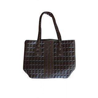 Akash Ganga Brown Shoulder Hand Bag (LHB30)