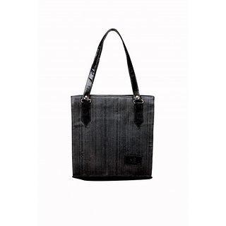 Akash Ganga Black Party Look Women Hand Bag (LHB57)