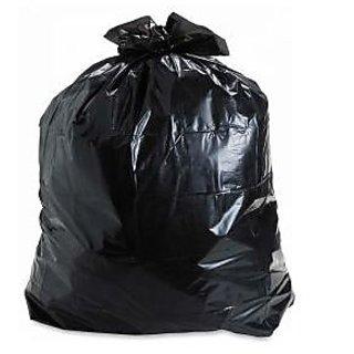 100 piecesBig Disposable Garbage Trash Waste Dustbin Bags For Bathroom /kitchen