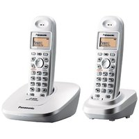 Panasonic KX-TG3612 Dual Unit Cordless Phone With Intercom & Conference Facility
