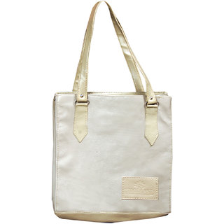 Akash Ganga White Shoulder Bag (LHB33)
