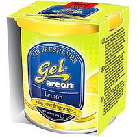 Areon Car Air Home Office Gel Perfume Freshener Lemon