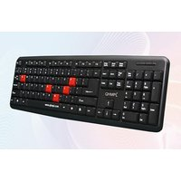 Quantum QHM7403 USB Keyboard With A Rupee Symbol Font