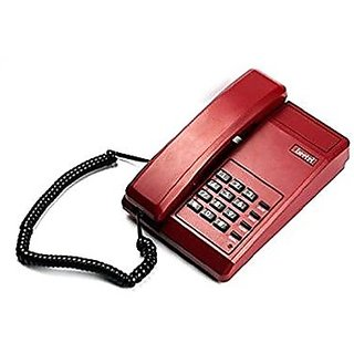 Beetel B-11 - (D.RED) Basic Landline Corded Telephone Set