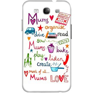 The Fappy Store mums-love Hard Plastic Back Case Cover For Samsung Galaxy S3