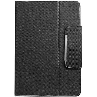 Metal Leather Flip Stand cover Case For 8