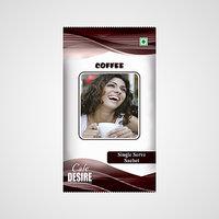 Instant Coffee Premix - Single Serve Sachet