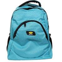Sami Blue Polyester Backpack