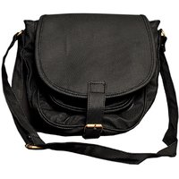 CA0 BLACK SLING BAG