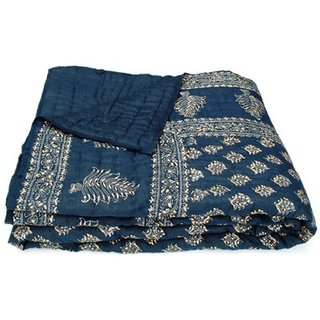 Marwal  jaipuri razai rajai cotton blanket comforter SINGLE BEDED