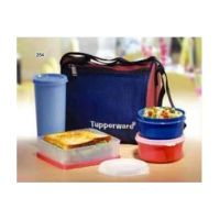 Tupperware Best Lunch Box With Insulated Bag + 2 CHUTNEY CUP FREE
