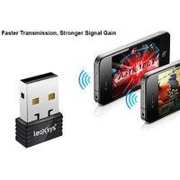 Leoxsys 150Mbps Nano Wireless Wi-Fi USB Adapter-LEO-NANO150N