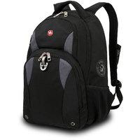 "Wenger 18"" Backpack (Black And  Grey)"