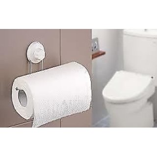 Toilet paper napkin tissue holder towel holder suction cup for Bathroom napkin holder