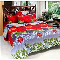 Ideal Wonder Collection Extra Soft 3D Bedsheets With 2 Pillow Covers