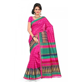 Florence Multi Color Bhagalpuri Silk Saree (FL-10650)
