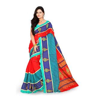 Florence Multi Color Bhagalpuri Silk Saree (FL-10652)