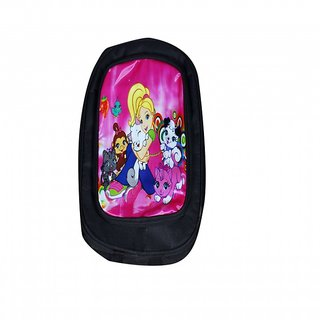 Akash Ganga Black Cartoon School Bag (SB41)