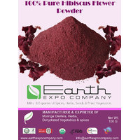 100 Pure Hibiscus Powder - 100 Gram