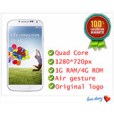 HDC S4 I9500 5 Inch 3G Mobile Phones Quadcore MTK 6589 1.4Ghz Android 4.2 1G RAM