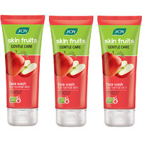 JOY Skin Fruits Gentle Care (Apple) Face Wash 150 ml (Pack of 3 x 50 ml)
