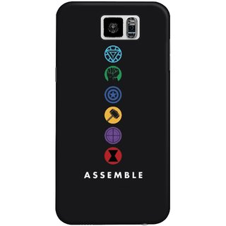 The Fappy Store Assemble Hard Plastic Back Case Cover Samsung Galaxy S6