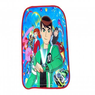 Akash Ganga Blue Ben10 School Bag for Kids (SB83)