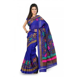 Florence Multi Color Bhagalpuri Silk Saree (FL-10656)