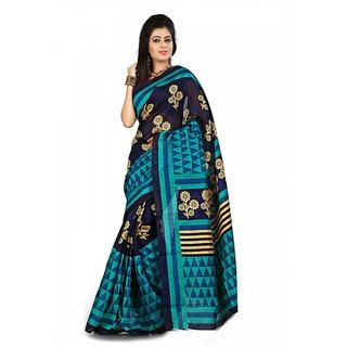 Florence Multi Color Bhagalpuri Silk Saree (FL-10658)