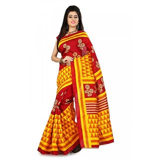 Florence Multi Color Bhagalpuri Silk Saree (FL-10659)