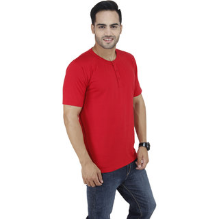 Red Graphic Junkie T Shirts for Mens