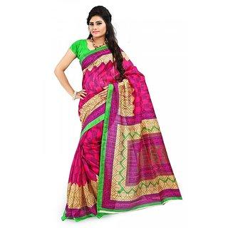 Florence Multi Color Bhagalpuri Silk Saree (FL-10670)