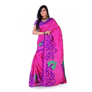 Florence Multi Color Bhagalpuri Silk Saree (FL-10672)