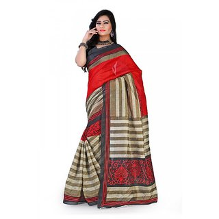 Florence Multi Color Bhagalpuri Silk Saree (FL-10678)