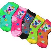 Set of 12 cartoon kids socks