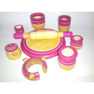 Wooden Toy Kitchen Set