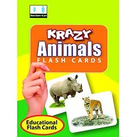 Krazy Animals Mini Flashcards