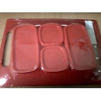 Princeware 6 Pcs Multi Purpose Kitchen Set - Red