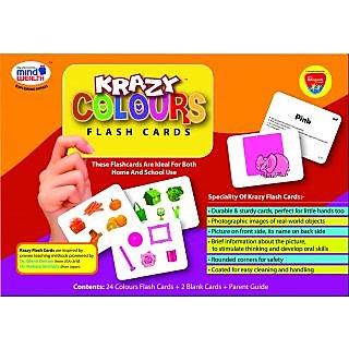 Krazy Colours Flash Cards