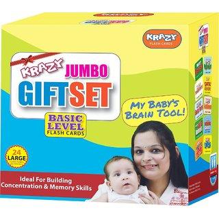 Krazy Flashcards Basic Jumbo Set